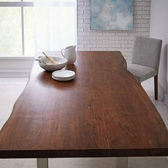 west elm Live Edge Wood Dining Table