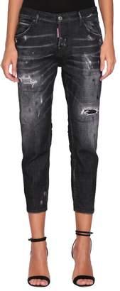 DSQUARED2 Cool Girl Cotton Denim Jeans