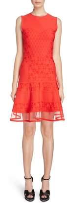 Alexander McQueen Knit Patchwork Dress