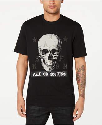 Sean John Men All Or Nothing Skull Graphic T-Shirt