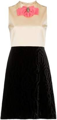 Gucci Silk Bow Detail Duchess Dress