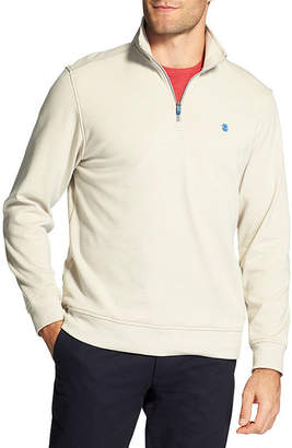 Izod Advantage Performance Stretch Fleece Quarter-Zip Pullover