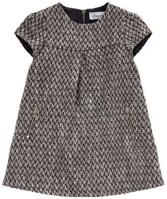Tartine et Chocolat Textured Zip Pocket Dress