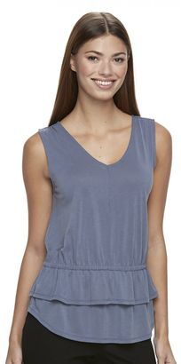 Women's Apt. 9® Ruffle V-Neck Top $30 thestylecure.com