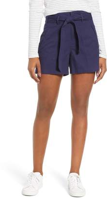 Caslon Belted Twill Shorts