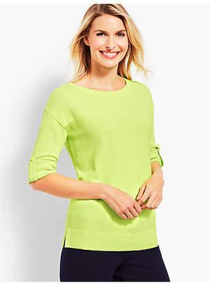 Talbots Roll-Cuff Sweater