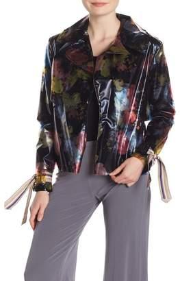 Petit Pois BY VIVIANA G PVC Windbreaker Jacket