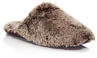 Ted Baker Men's Nnyah Faux Fur Slippers