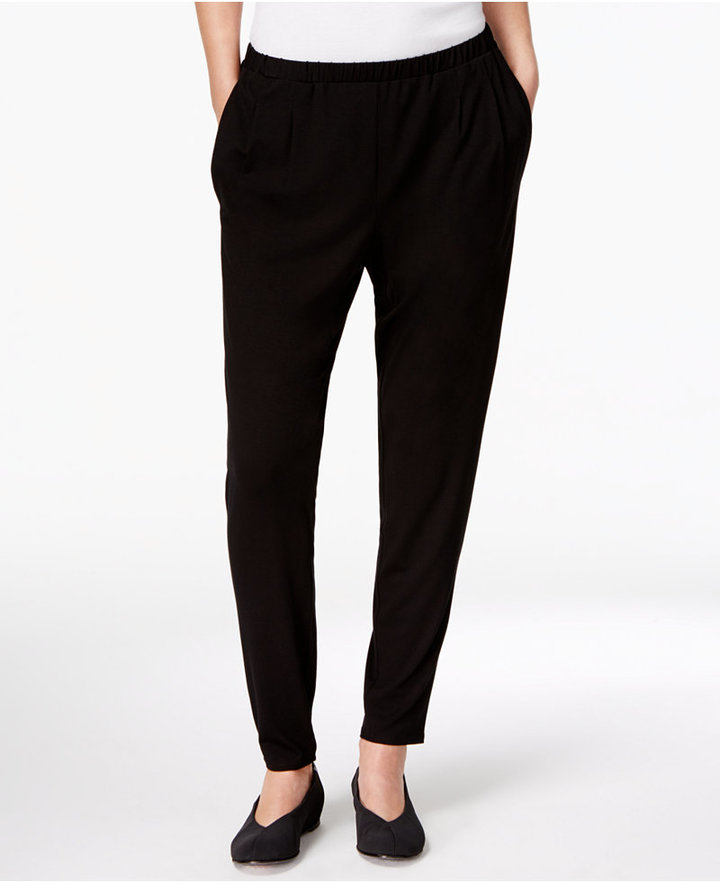 Eileen Fisher Pull-On Slouchy Pant