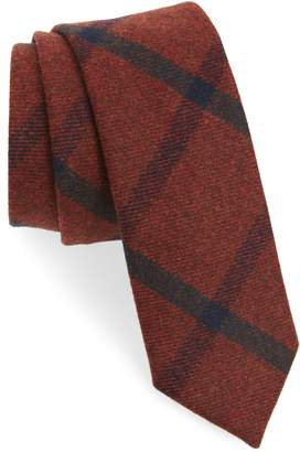 The Tie Bar Mosso Plaid Wool Tie
