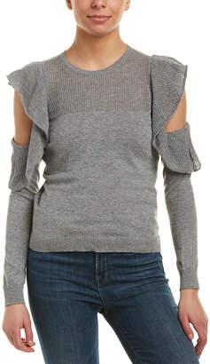 BCBGeneration Cold-Shoulder Sweater