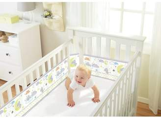 BreathableBaby Tiny Tatty Teddy Mesh Cot Liner - 4 Sided