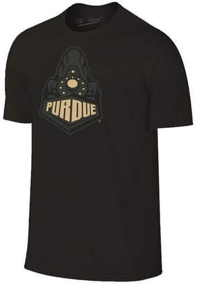 Champion Men Purdue Boilermakers Black Out Dual Blend T-Shirt
