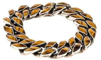 David Yurman Tiger's Eye Link Bracelet