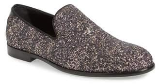 Jimmy Choo Marlo Glitter Venetian Loafer