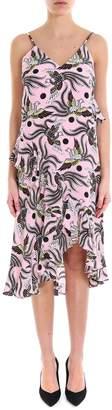 Kenzo Long Slip Dress