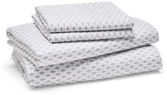 Bloomingdale's Essentials Dot Diamond Sheet Set, Twin - 100% Exclusive