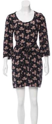 Stella McCartney Silk Belted Dress