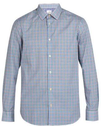Paul Smith Checked Cotton Shirt - Mens - Multi