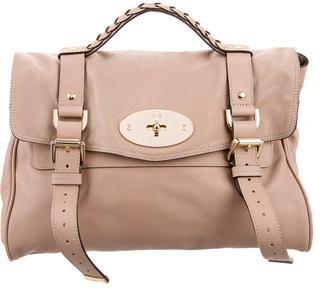 Mulberry Leather Alexa Satchel $625 thestylecure.com
