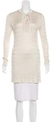 Ralph Lauren Silk Knit Top