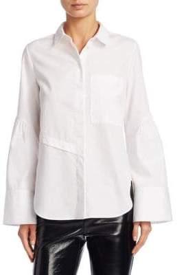 3.1 Phillip Lim Bell Sleeve Button-Down Shirt