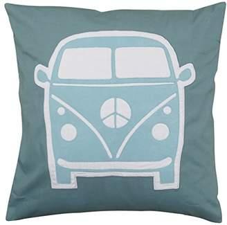 Taftan Little Van Pillow Case (Grey/Blue)
