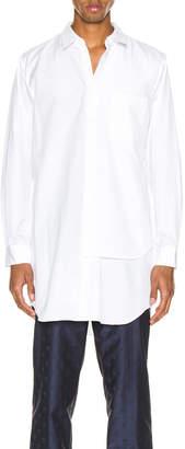 Comme des Garcons Shirt in White | FWRD