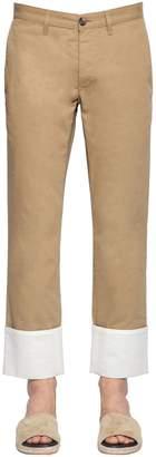 Loewe Fisherman Cotton Canvas Chino Pants