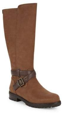 UGG Harington Buckled Leather Riding Boots