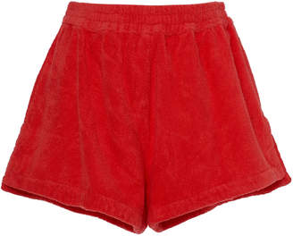 Terry Estate Cotton-Terry Shorts Size: S