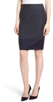 BOSS Vibena Windowpane Skirt