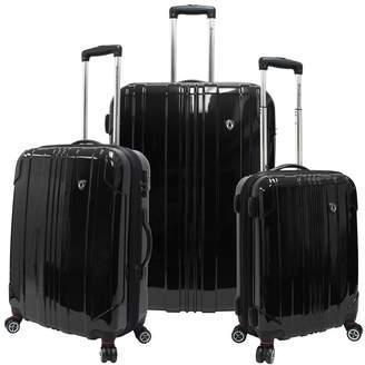 Traveler's Choice Travelers Choice 3-Piece Sedona Hardcase Luggage Set