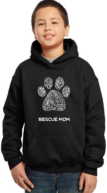 LOS ANGELES POP ART Los Angeles Pop Art Boy's Word Art Hooded Sweatshirt – Resue Mom