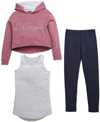 Very To L.A 3 Piece Hoodie Outfit