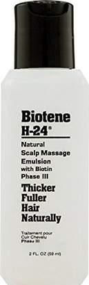 Mill Creek Botanicals Biotene H-24 Emulsion for Thicker Fuller Hair Naturally