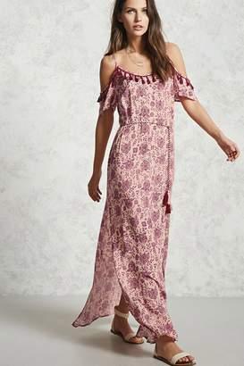 Forever 21 Contemporary Paisley Print Maxi Dress