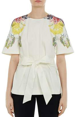 Ted Baker Bonnay Tranquility Tie-Waist Tunic