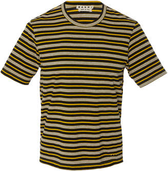 Marni Striped Crewneck T-Shirt