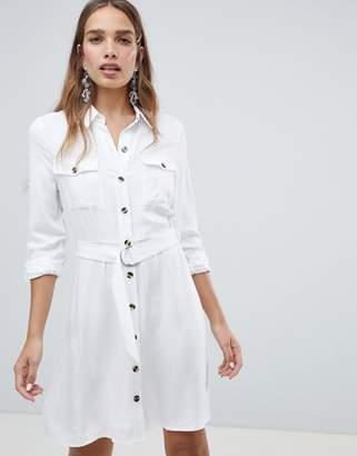 New Look Utility Shirt Dress