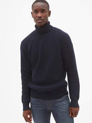 Gap Ribbed Turtleneck Pullover Sweater