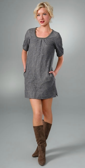 Generra Lace Tunic Dress