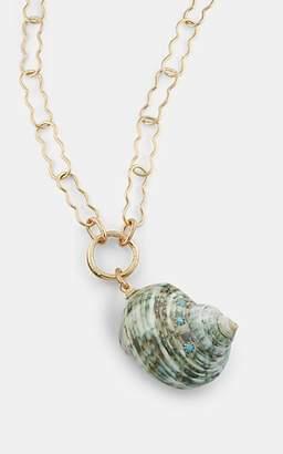 Eliza J Brinker & Women's Skinny Dip Pendant Necklace - Gold