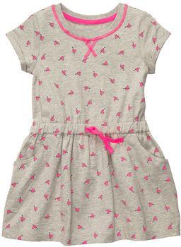 Carter's Short-Sleeve Jersey Print Dress