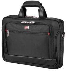 Mancini Slim Biztech RFID-Secure Briefcase