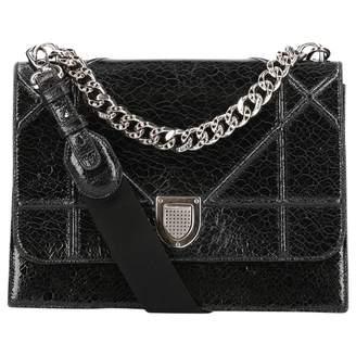 Christian Dior Diorama patent leather handbag