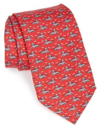 Vineyard Vines Dog Print Tie