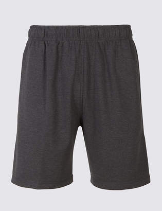 Marks and Spencer Elastic Waist Sweat Shorts