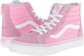 Vans Kids Sk8-Hi Zip Girls Shoes