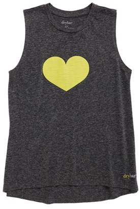 Women's Drybar Capsule Yellow Heart Tank Top $33 thestylecure.com